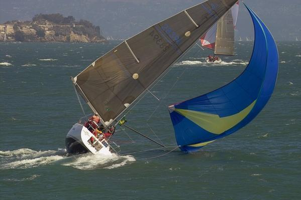 Image result for BOAT WITH SPINNAKER IN STRONG WINDS